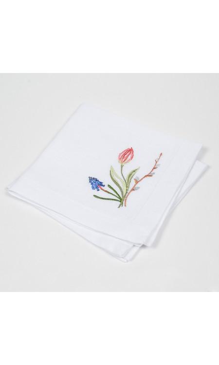 Серветки тюльпани