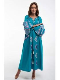 Чарівна вишита сукня
