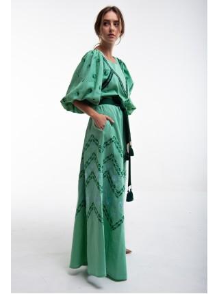 Сукня Росинка зелена