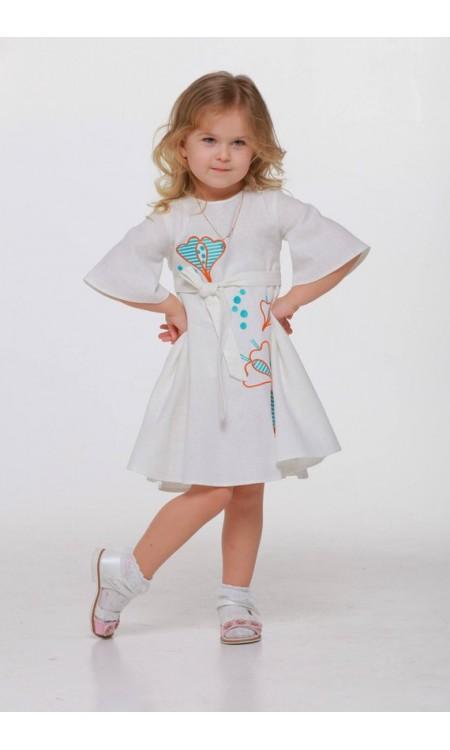 Дитяча сукня вишиванка «Первоцвіт»
