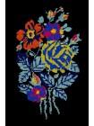 Світшот із квітковою вишивкою