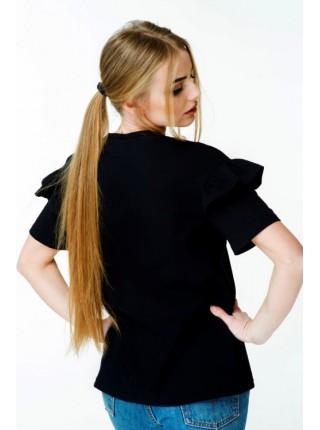 Чорна футболка