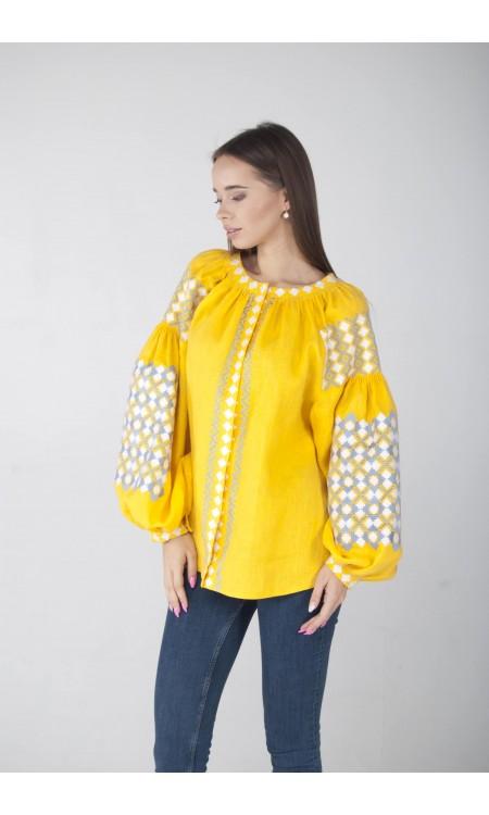 Вишиванка жовта