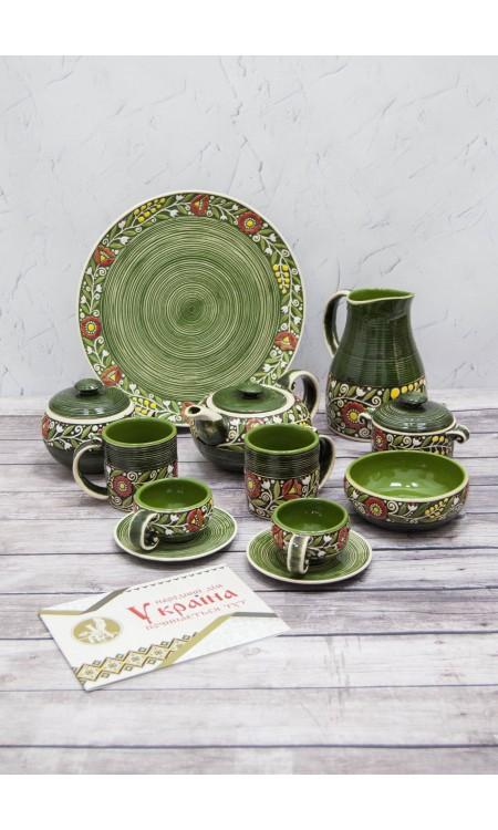 Набiр кераміки Зелений