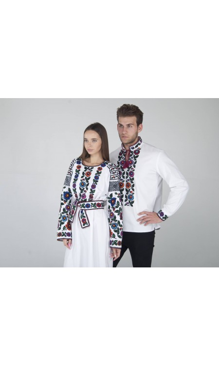 Біла сукня та вишиванка Pair1
