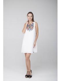 Сукня лляна з вишивкою