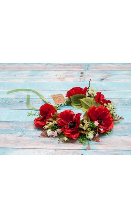 Вінок з квітів 2